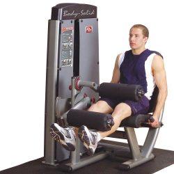 Body-Solid Pro Dual Leg Extension & Curl Machine DLEC-SF