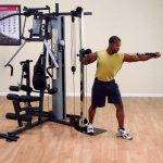 Body-Solid G2B Bi-Angular Home Gym + Cable Column