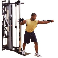 Body-Solid Bi-Angular Home Gym G6B + Cable Column GCCA