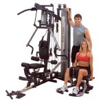 Body-Solid Bi-Angular Home Gym G6B + Inner/Outer Thigh GIOT