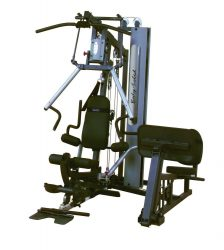 Body-Solid Bi-Angular Home Gym G6B + Leg Press Station GLP
