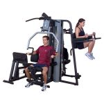 Body-Solid Two-Stack Gym (G9S) + Vertical Knee Raise and Dip Station (GKR9)