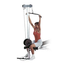 Body-Solid Universal Bench + Lat Row Attach.