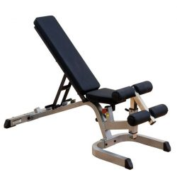 Body-Solid Universal Bench + Preacher Curl+ Lat Row + Leg Dev.