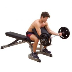 Body-Solid Universal Bench + Preacher Curl