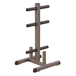 Body-Solid Olympic Plate Tree & Bar Holder GOWT