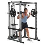 Body-Solid Pro Power Rack + Lat Attach.