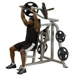Body-Solid Pro Club Line Leverage Shoulder Press LVSP