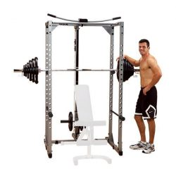 Powerline Power Rack + Powerline Lat Attach