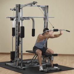 Powerline Smith Machine + Lat Attach. + Weight + Pec Attach. + Universal Bench