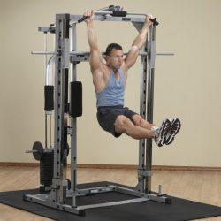 Powerline Smith Machine + Lat Attach. + Weight + Pec Attach.