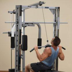Powerline Smith Machine + Lat Attach. + Weight