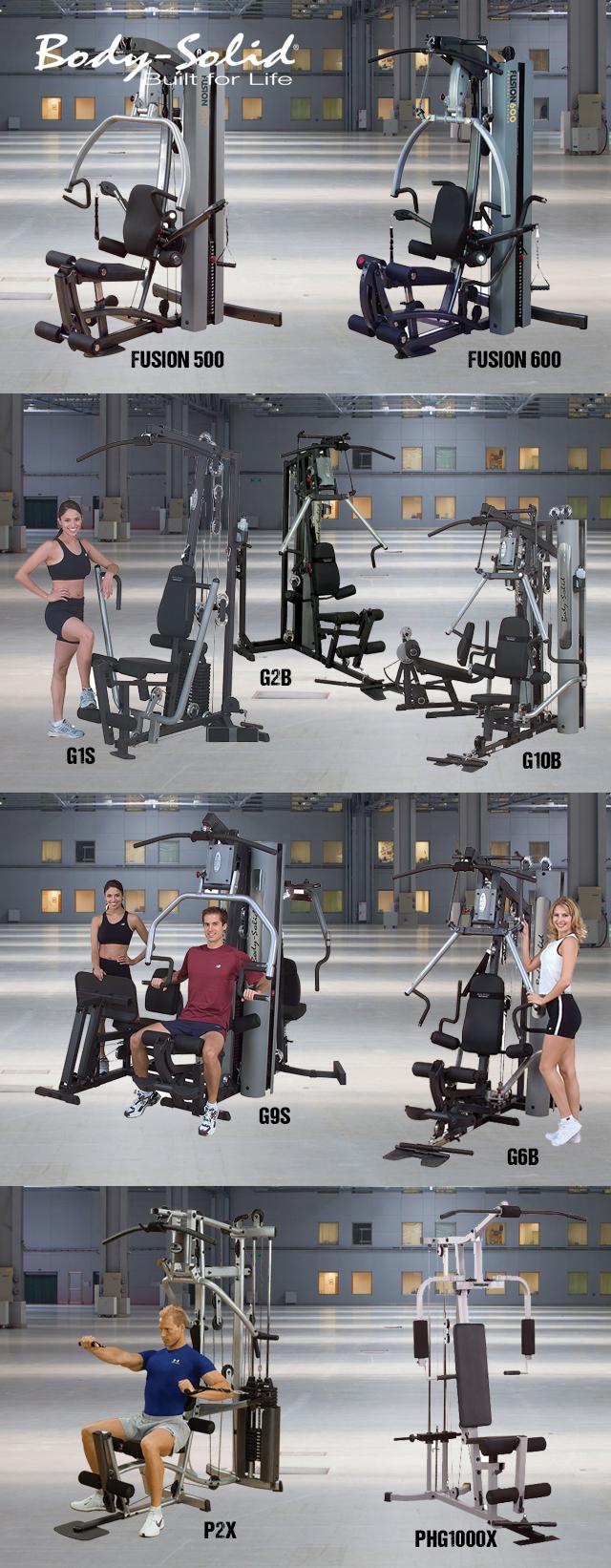 Body-Solid Kombinált gépek