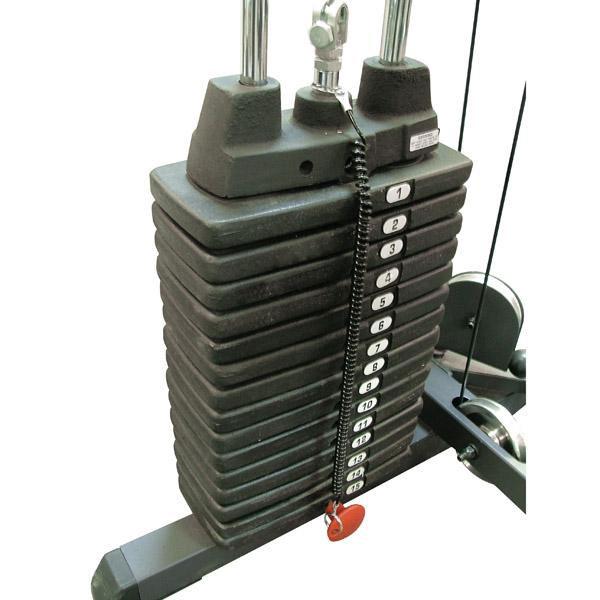 SP150: 150 fontos (68 kg) ráépíthető lapsúlyos rendszer oszloponként