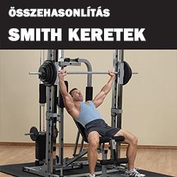 Smith erőkeretek összehasonlítás